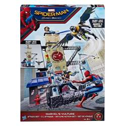 Web City Playset Spiderman 57 Cms. Con Figura Buitre 15 Cm