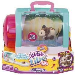 Little Live Pets Ratones Juguetones Azul Famosa