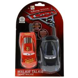 WALKIE TALKIE CARS 3 2 FIGURAS DISTINTAS