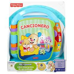 LIBRO INTERACTIVO APRENDIZAJE FISHER-PRICE