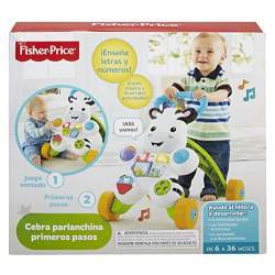 FISHER PRICE CEBRA PARLANCHINA PRIMEROS PASOS