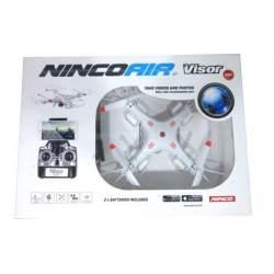 DRONE NINCOAIR VISOR WIFI DOBLE BATERIA 33X33