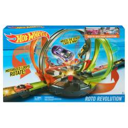 PISTA HOT WHEELS MEGALOOPING INFERNAL CON 2 COCHES