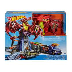 PISTA HOT WHEELS DRAGON ATTACK INCLUYE COCHE