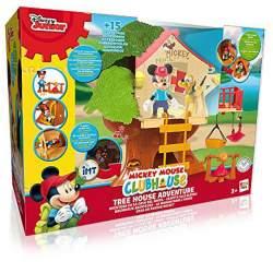 Casa Aventura En El Árbol Mickey C/ Figura Mickey Y Pluto Luces Y Sonidos