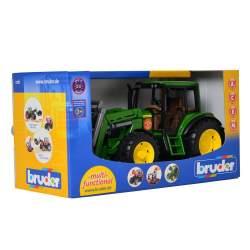 Bruder Tractor John Deer 6920 Con Pala Frontar