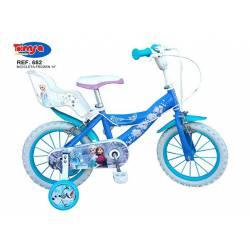 Bicicleta Frozen 14''