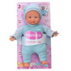 Nenuco 3 Funciones Color Azul