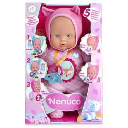 Nenuco Blandito 5 Funciones Color Rosa