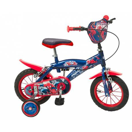 Bicicleta Spiderman 12''