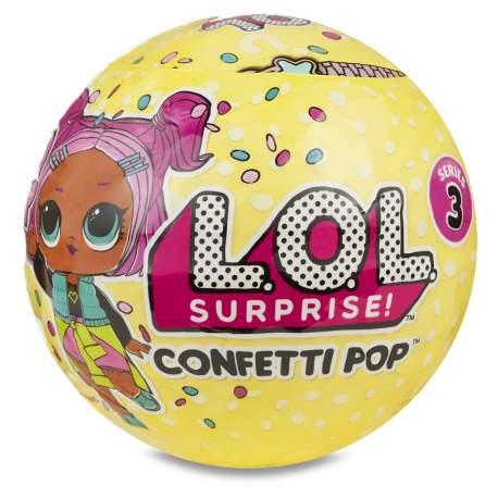 L.O.L. Surprise Confetti Serie 3 Giochi Preziosi