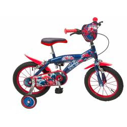 Bicicleta Spiderman 14''
