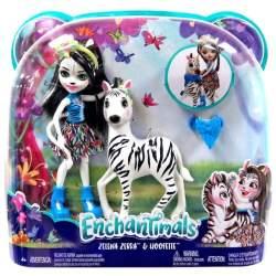 Muñeca Enchantimal Zelena Zebra