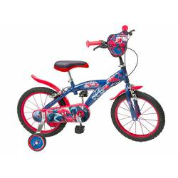 Bicicleta Spiderman 16''