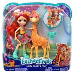 Muñeca Enchantimal Gillian Giraffe