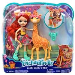 Muñeca Enchantimal Gillian Giraffe