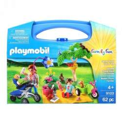 Playmobil Maletin Pincnic Familiar