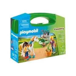Playmobil Maletín Cuidado de Caballos