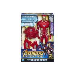 FIGURA TITAN IRON MAN CON MOCHILA POWER FX 30 CMS