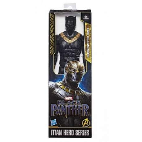 Figura Titan Erik Killmonger Pantera