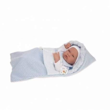 Muñecas Antonio Juan Recién Nacido con Saco Niño