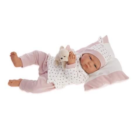 Muñeca Berta Pijama Cruzado 52 cm