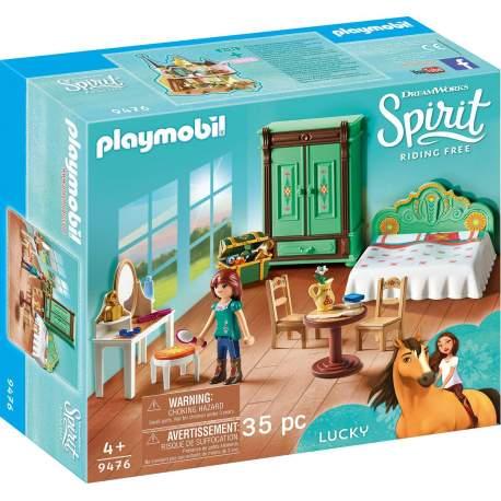 Habitación de Lucky PLaymobil Spirit