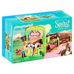Establo Abigail y Boomerang Playmobil Spirit
