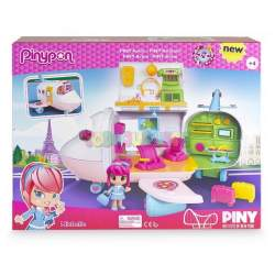 PIN Y PON BY PINY AVION CON FIGURA EXCLUSIVA