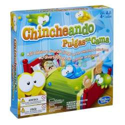 Juego Chincheando Pulgas na cama