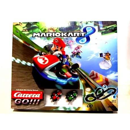Pista Carrera Mario Kart 8 incluye dos vehiculos Mario + Lui