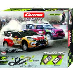 Pista Carrera Rally Action incluye dos coches Mini Dani Sord