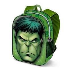 Mochila 3D Avengers Hulk Marvel 31cm