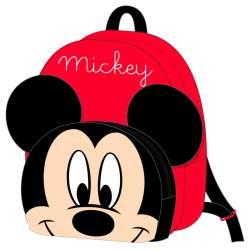 Mochila Peluche Mickey Disney 18x22x8cm