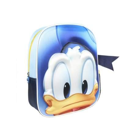 Mochila 3d Donald Disney 31cm