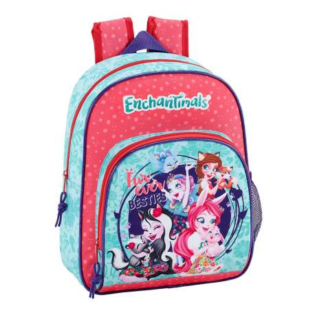 Mochila infantil adaptable a carro enchantimals