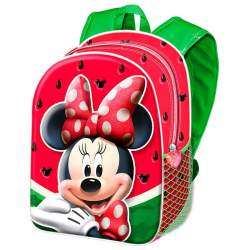 Mochila 3D Minnie Watermelon Disney 31cm