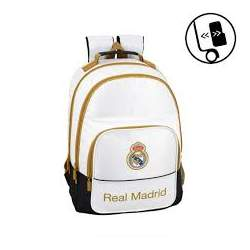 Mochila Doble Real Madrid Adaptable