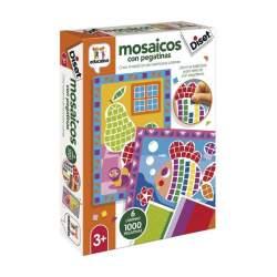Juego Diset Didactico Mosaicos Con Pegatinas