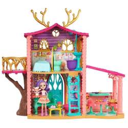 Supercasa Del Bosque Y Muñeca Danessa Enchantimals Altura 60