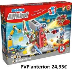 Juego Robotic Alfabot 3 En 1 237 Piezas Construye Tu Robot