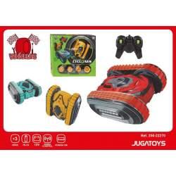 Coche R/C Con Bateria Y Cargador Usb Colores Sdos 37X8x33cm
