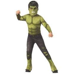 Disfraz Infantil Hulk Avengers Endgame Classic Talla S