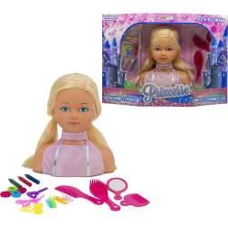 Busto Princesa Puedes Peinarla Y Decorarla Con Sus Accesorio