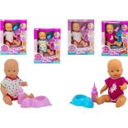 Muñeco Baby Pipi 40 Cm Mod Sdos Toma El Biberon Y Hace Pipi.
