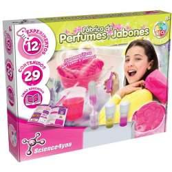 Juego Fabrica De Perfumes Y Jabones Con 12 Experimentos.