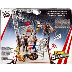 Ring Luchadores Wwe Con Sonidos Slammers