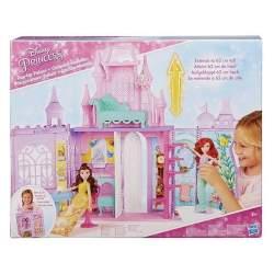 Castillo Maletín Disney Princess Se Pliega Para Guardar 38X4