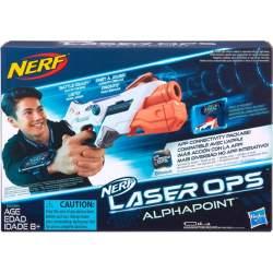 Pistola Nerf Vector Alphapoint Con Luces Y Sonidos Incluye 2