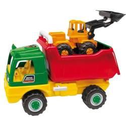 Camion Volquete Y Excavadora